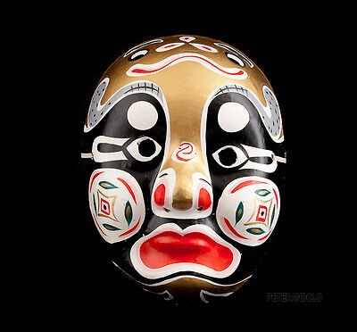 Mask D Opera Chinese Beijing Made and Hand Painted/Chinese Mask G16-30