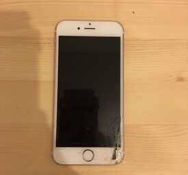 iPhone 6S 16GB CRACKED SCREEN