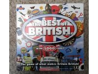 TWO LOGO BOARD GAMES. BEST OF BRITISH AND HIS AND HERS