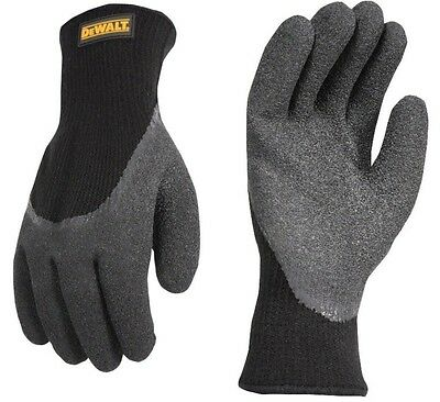 DeWalt Thermal Gripper Cold Weather Large Work Gloves Winter DPG736