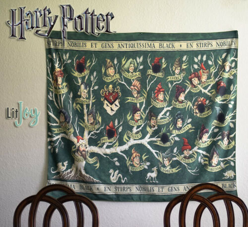 Sirius Black Family Tapestry, LitJoy, Wizarding World, Harry Potter, Hogwarts HP