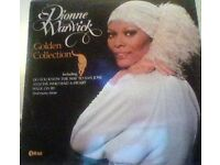 dionne warwick,vinyl record,lp,golden collection.