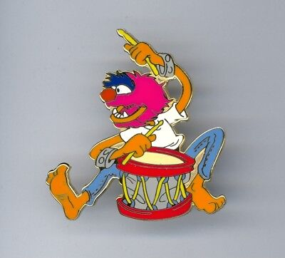 Disney The Muppets Muppet Show Animal Playing Drums Electric Mayhem Drummer Pin