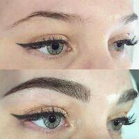 Embroidery brows- microblading