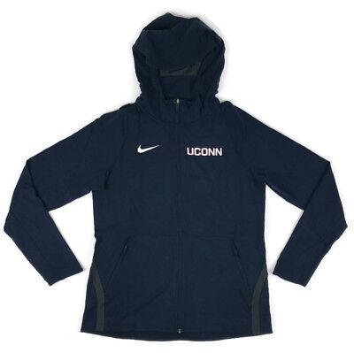 Uconn Huskies Women Basketball (New Nike UConn Huskies Hyperelite Basketball Full Zip Jacket Hoodie Women's)