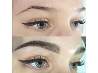 Semi permanent eyebrows tattoo & microblading