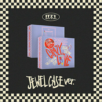 ITZY CRAZY IN LOVE 1st Album SPECIAL EDITION JEWEL CASE Ver CD+Photo Book+2 Card