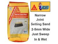 Sika setting sand for patio and driveways 20kg bags
