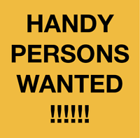 THORNHILL RICHMOND HILL Handy Persons wanted !!