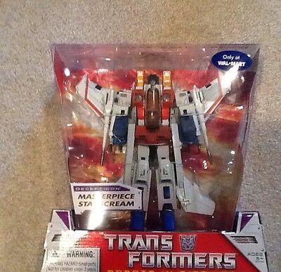 Transformers Hasbro Masterpiece Starscream Walmart G1 Unopened