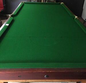 8x4 slate billiard pool table Keilor East Moonee Valley Preview