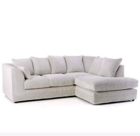 Brand New cream colour corner sofa for sale