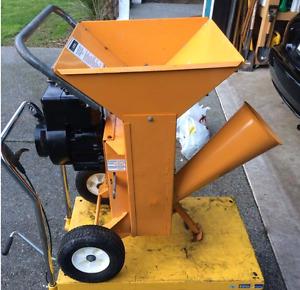 Gas wood chipper shredder 5hp