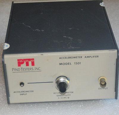 Pind Pti 1501 Accelerometer Amplifier