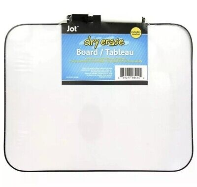 Dry Erase Board With Marker And Eraser - Magnetic Whiteboard 8.5x11 Inches