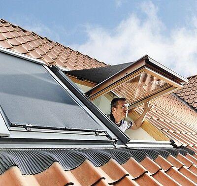 ORIGINAL VELUX MHL Dachfenster Aussenmarkise Hitzeschutz Antihitze Schwarz