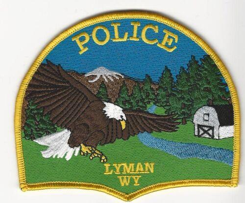 Scenic Lyman Police State Wyoming WY