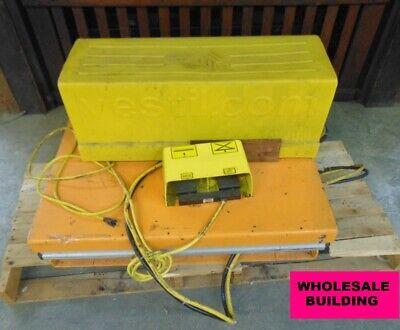 Vestil Work Station Lift Table 1500lb Capacity Ehlt-ws-2436-1.5 Height 8.625