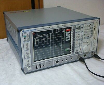 Rohdeschwarz Fsiq3 K10k11b4b5b8 20hz-3.5ghz Spectrum Analyzer With Tg