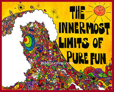 The Innermost Limits of Pure Fun 1969 Surf Movie George Greenough Poster