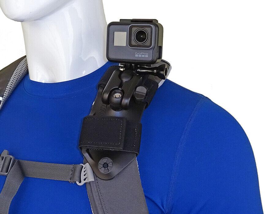 Stuntman Pack Mount - Shoulder Strap Mount for Action Camera