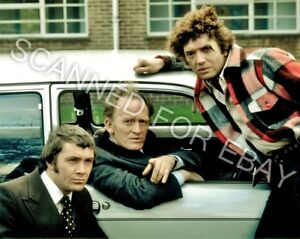 THE PROFESSIONALS, Martin Shaw, Lewis Collins, 8x10in Glossy Photograph (P60)