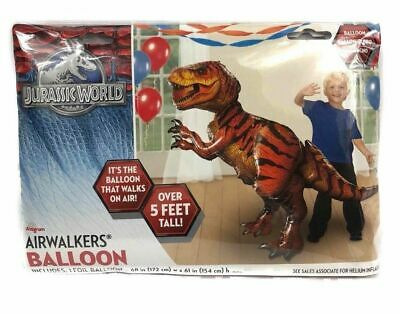 Jurassic World Tyrannosaurus Rex Airwalker Foil Balloon - Giant Gliding 61