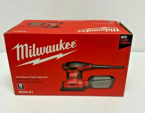MILWAUKEE TOOL 6033-21 Corded 1/4 Sheet Palm Sander (PDS011400)