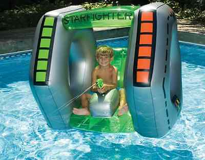NEW Starfighter Super Squirter Inflatable Pool Toy Swimming Fun Water Kids Float