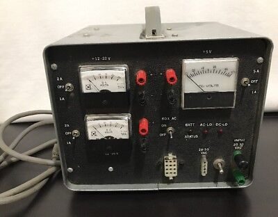 Portable 120 Ac Volt Transformer Tester Multi Charger Gauge Status Panel Unit Dc