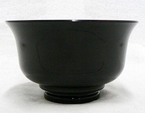 BLACK AMETHYST GLASS ROUND BOWL
