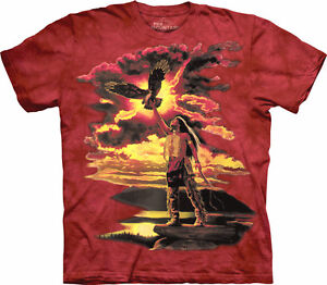 Native American Indian Themed T Shirt 100 Cotton Gift of ...