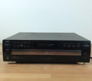 JVC 5-Disc Carousel CD Changer, 32 Track Program/Headphone Jack