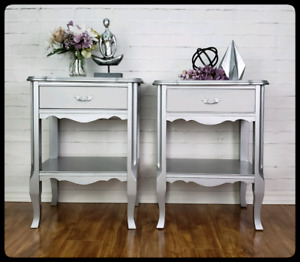 French Provincial Nightstands - Ajax