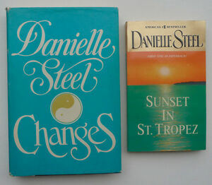 2 Danielle Steel books -- one hardcover, one paperback