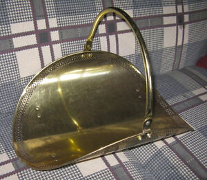 Brass Coloured Fire-Log Holder Kingston Kingston Area image 3