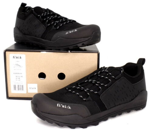 Fizik Ergolace X2 Mountain Bike SPD Shoes, Black, US 11 / EU 44.5