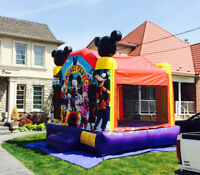 Mickey Park Jumping bouncy Castle Rental Delivered -10 Kid Ride