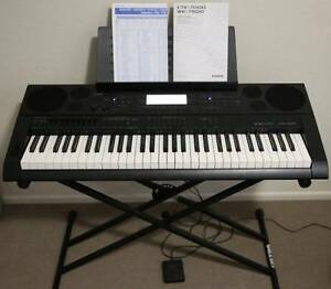 casio keyboard in brisbane region qld keyboards pianos gumtree australia free local. Black Bedroom Furniture Sets. Home Design Ideas