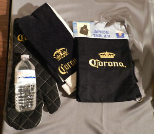 Never Used Set of Corona Beer Cooking Accessories.