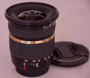 TAMRON 10-24mm (Canon mount) LENS: $ 250.00