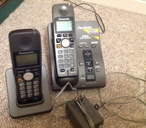 Panasonic home phone 2 handsets