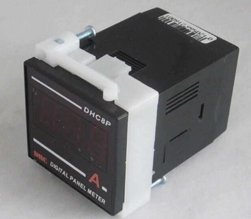 DHC8P 48mmX48mm Size AC Digital Led Ammeter Meter DC100V-240V