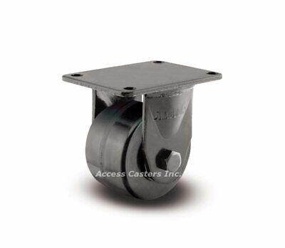 20tm03201r 3 Rigid Business Machine Plate Caster Phenolic Wheel 700 Lb Capacity