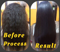 PERMANENT HAIR STRAIGHT**100% SEE THE RESULT AFTER FEW HOURS!!