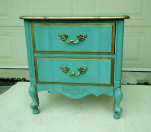 Louis XV Night Table w/Drawers