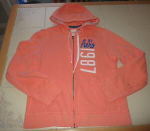 Girls peach hoody from Aeropostale in size Lg
