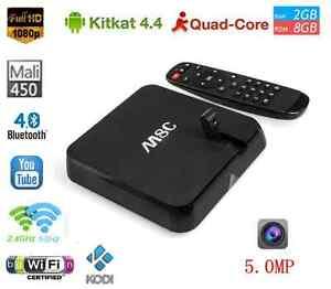 Original M8C Android SmartTV Box2GB/8GB KODI IPTV 5MP CAMERA Mic