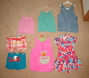 Girls Clothes, Dresses - sizes 3, 4, 5