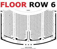 Meat Loaf 6/4 2/4 Hard Tix $50 BeloCOST Ctr Floor Rows F,H - JXR